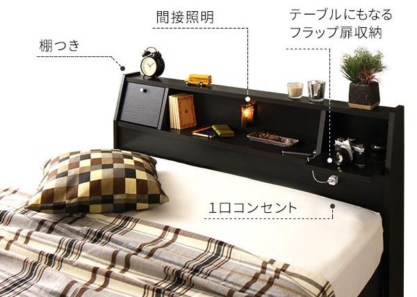 収納ベッド『AJITO』アジットのヘッドボード