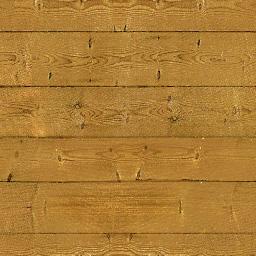 ブラウンの床板