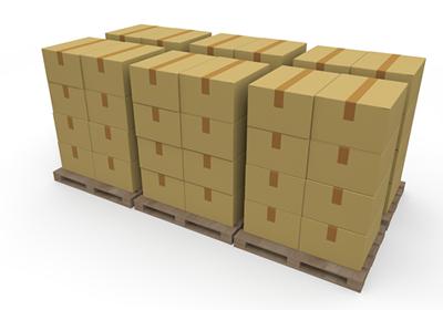 梱包の荷物