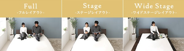 ステージタイプベッド