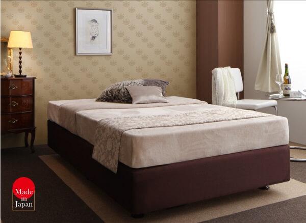 ホテル仕様デザインダブルクッションベッドクッション