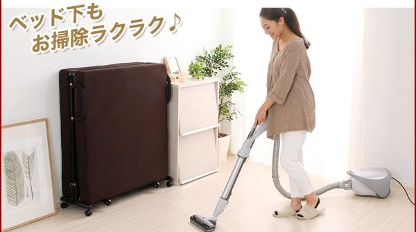 掃除機で、掃除も楽々
