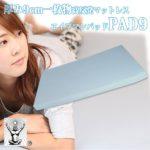 高反発マットレス 高耐久性 PAD9 『エイプマンパッド』